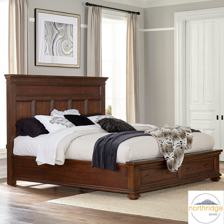 northridge conner super king size storage bed frame costco uk