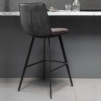 bar stool chair grey red wingback cover chairs stools gallery palmer faux leather 2 pack