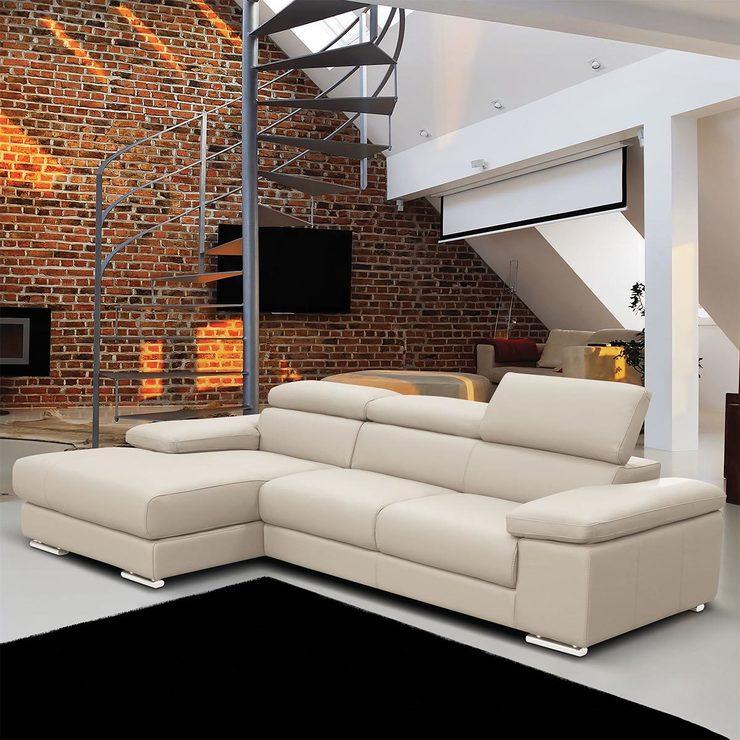italy leather sofa uk brugte sofaborde wegner nicoletti lipari cream italian chaise left facing costco