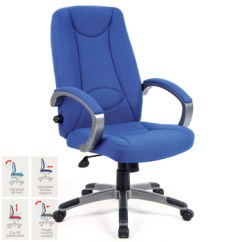Office Chairs Uk With Wheels Lucca High Back Managers Chair In 2 Colours