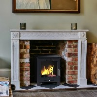 Imagin Fires Malvern Bio-Ethanol Real Flame Fireplace ...