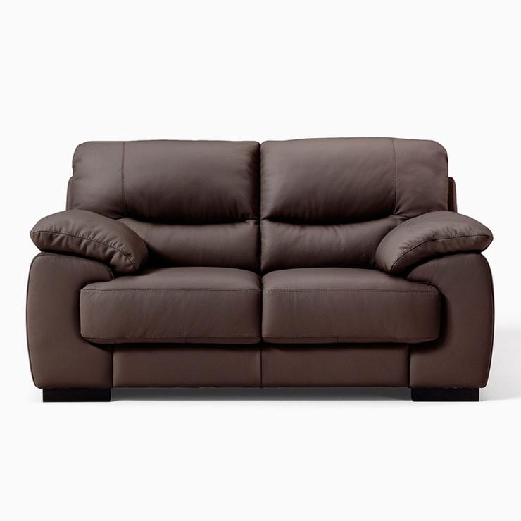 italy leather sofa uk cheap sofas near me latina 2 seater italian in brown costco