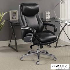 La Z Boy Black Leather Executive Office Chair Uk Chapel Chairs With Kneelers Desk - Hostgarcia