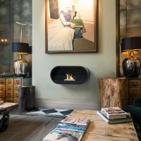 Imagin Fires Marlow Bio-Ethanol Real Flame Fireplace ...
