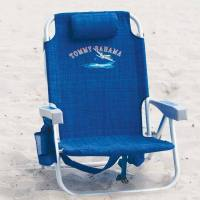Tommy Bahama Backpack Folding Beach Chair in Blue
