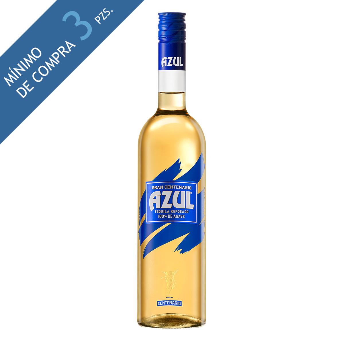 centenario azul tequila reposado