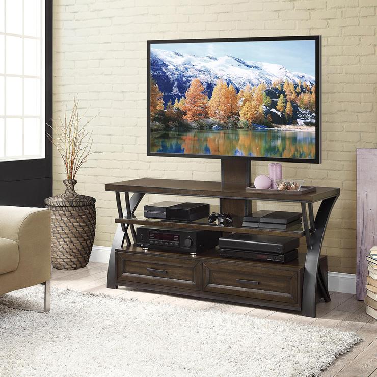 costco sofas chrome and gl sofa table bayside furnishings, mareno, consola para tv 3 en 1 ...