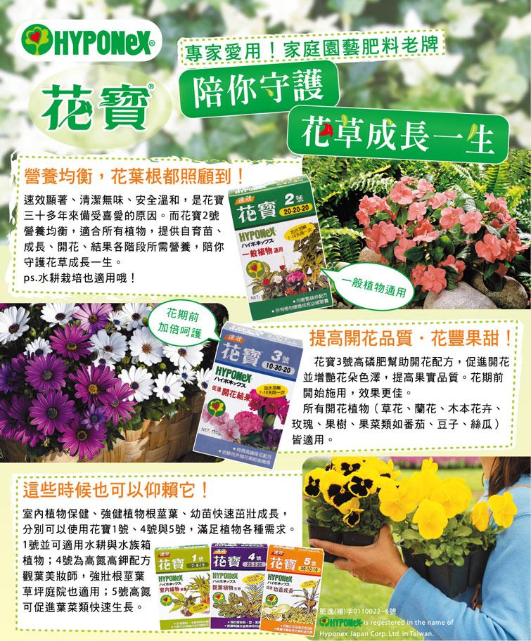 花寶2號肥料1200公克(50公克 x 24入)- 20-20-20 一般植物通用 | Costco 好市多線上購物