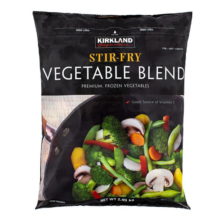 Kirkland Signature 科克蘭 冷凍綜合蔬菜 2.49KG | Costco 好市多線上購物