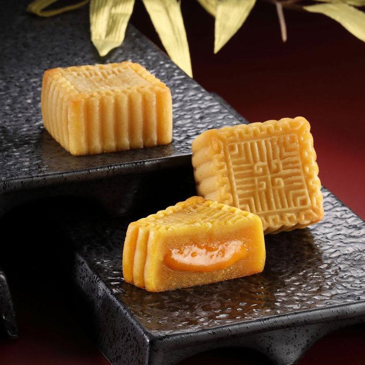 [預購]皇樓 奶黃流沙月餅禮盒 55公克 X8入   Costco 好市多線上購物
