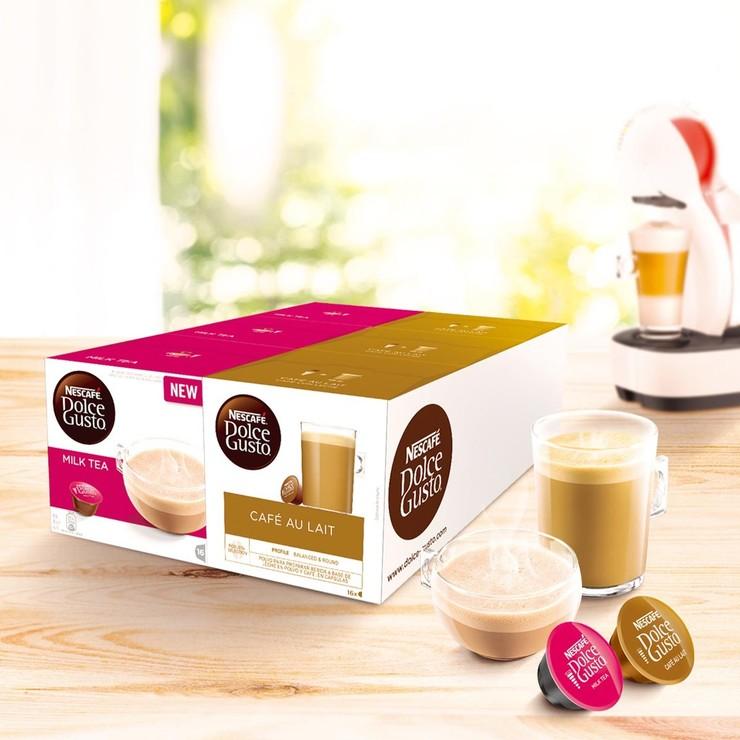 Dolce Gusto 雀巢醇香奶茶+咖啡歐蕾膠囊組 | Costco 好市多線上購物