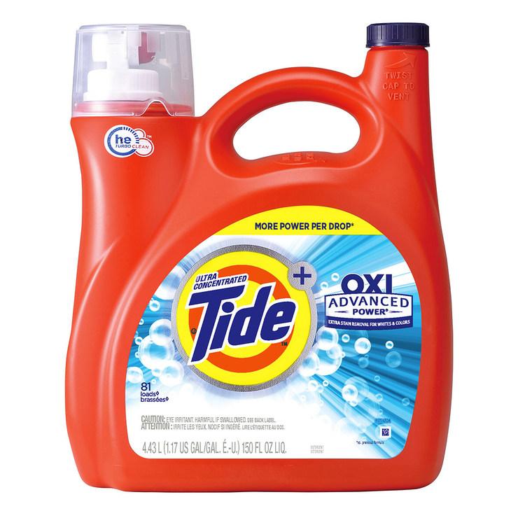 Tide 汰漬 OXI亮白護色洗衣精 4.43公升 | Costco 好市多線上購物