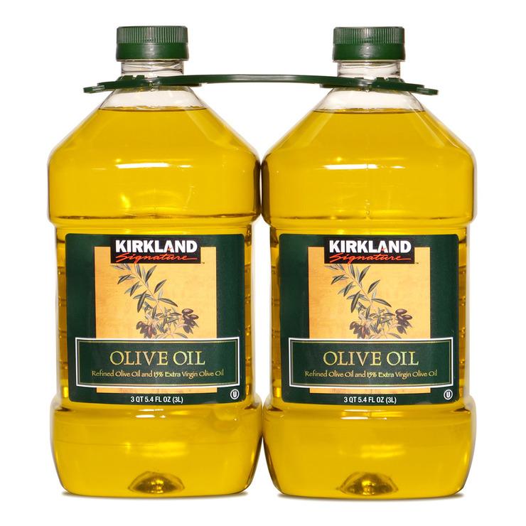Kirkland Signature 科克蘭 純橄欖油 3公升 X 2入/組 | Costco 好市多線上購物