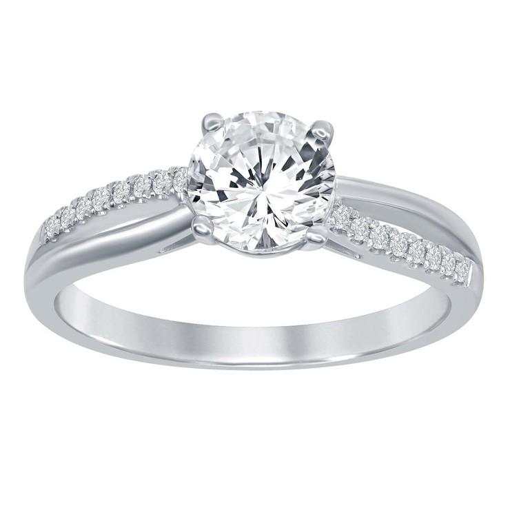 1.04克拉圓形鑽石戒指 VS2. I   Costco 好市多線上購物