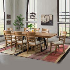 Kitchen Chairs On Rollers Granite Table Imagio 餐桌椅九件組 Costco 好市多線上購物