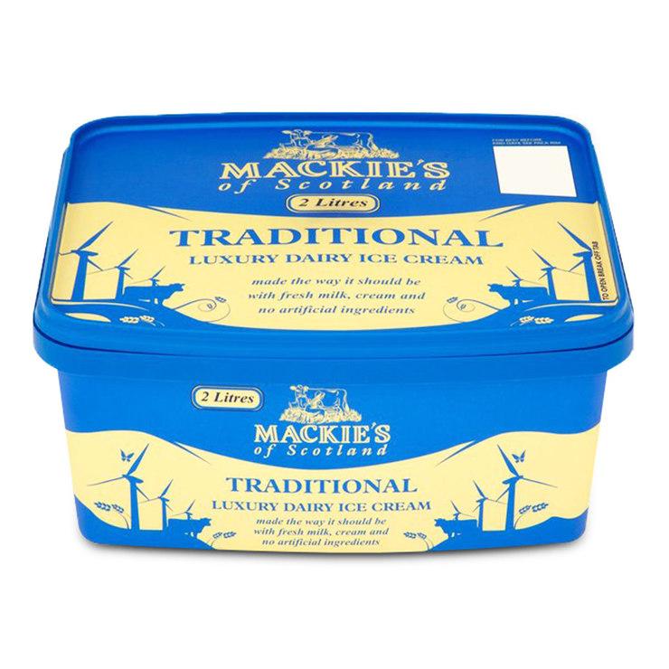 Mackie's 蘇格蘭 經典牛奶冰淇淋 2 公升 | Costco 好市多線上購物