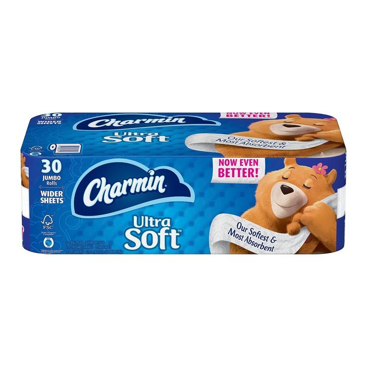 Charmin 超柔捲筒衛生紙 214張 X 30卷 | Costco 好市多線上購物
