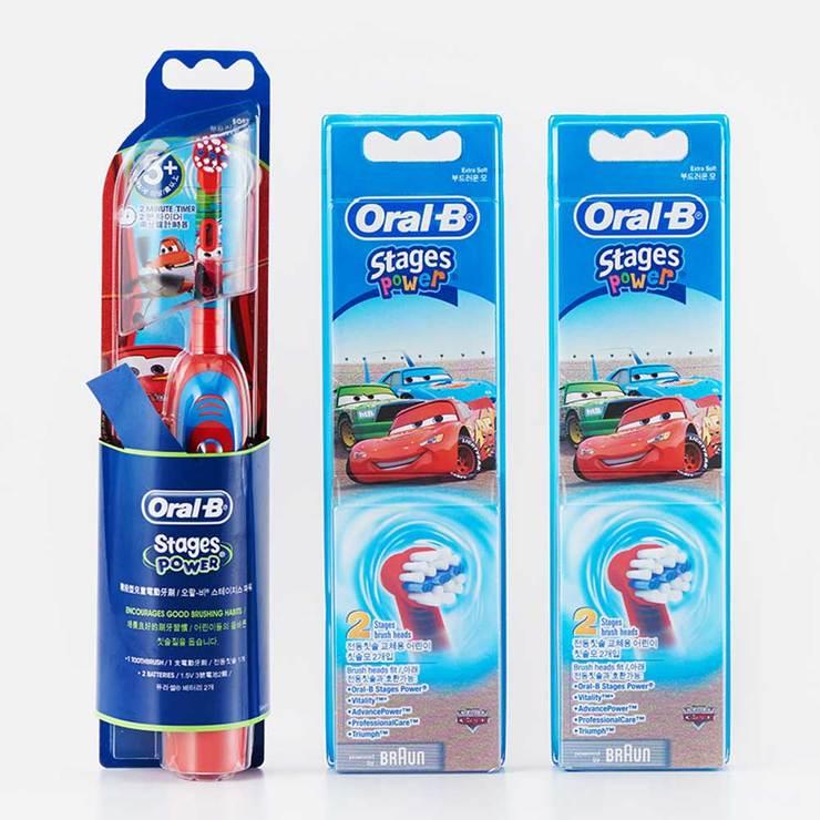 歐樂B 迪士尼兒童電動牙刷組 (1 刷柄 + 5 刷頭)   Costco 好市多線上購物
