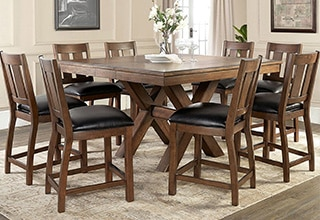 kitchen dining sets cost to remodel furniture costco 9 piece