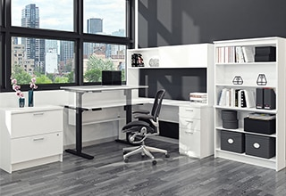 la z boy martin big and tall executive office chair brown covers for hire in pretoria furniture costco collections desks workstations