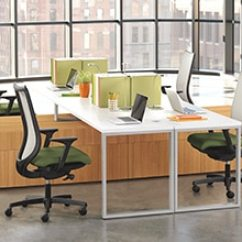La Z Boy Martin Big And Tall Executive Office Chair Brown Wicker Club Furniture Costco Chairs Mats