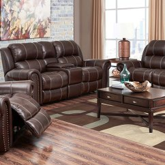 Top Grain Leather Sofa Set Dr Sofat Maryland Channing   Costco