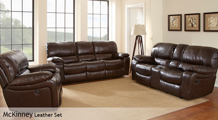 power reclining leather sofa sets ashford chaise next costco – home decor