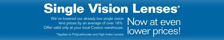 Single Vision Lenses Now At Even Lower S We Ve Lowered Our Already