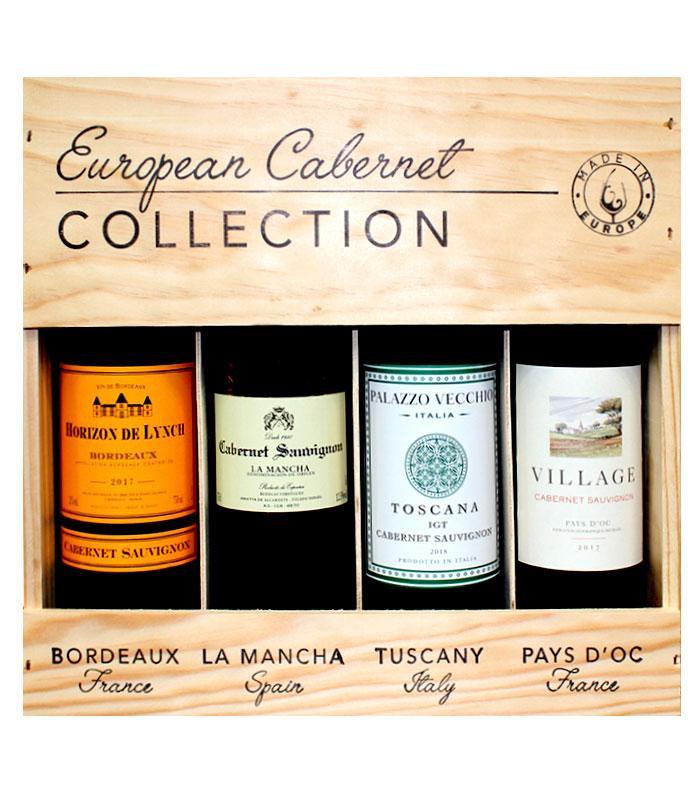 European Cabernet Collection 4x750ml
