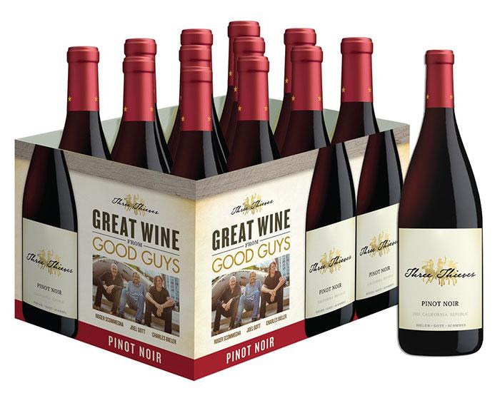 Three Thieves Pinot Noir