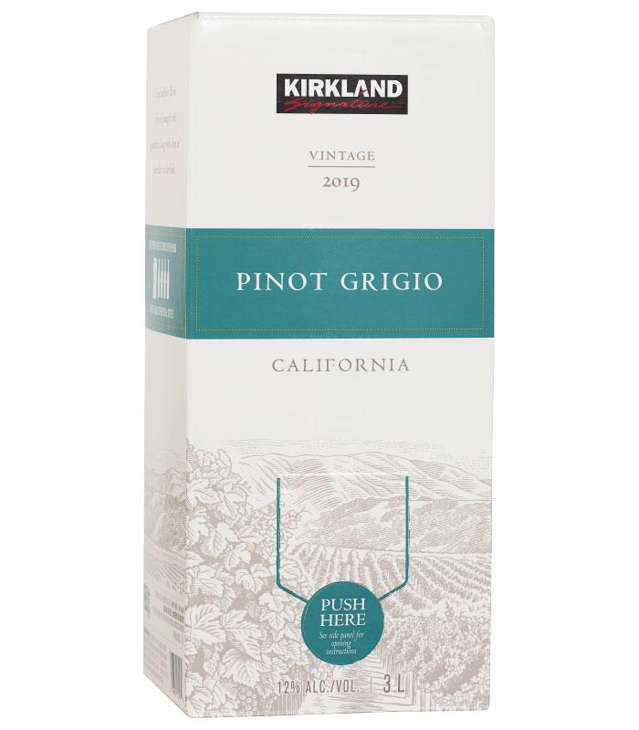 Kirkland Signature California Pinot Grigio 3L