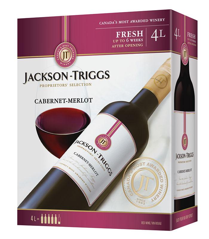 Jackson Triggs Cabernet Merlot 4L