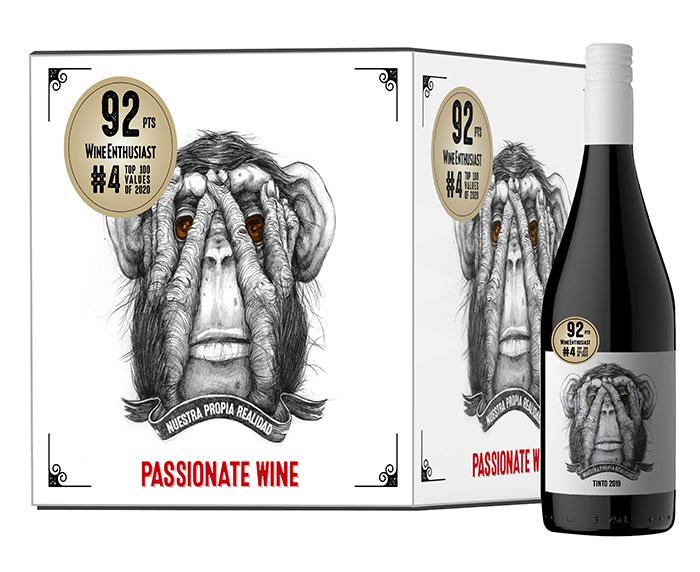 Passionate Wine Del Mono Tinto Red Blend 750ml
