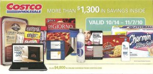 2010 Oct Costco Coupon Book