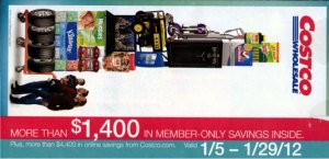 January 2012 Coupon Book Cover