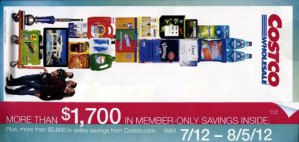 July 2012 Coupon Book Cover