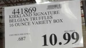 Truffle Price Sign