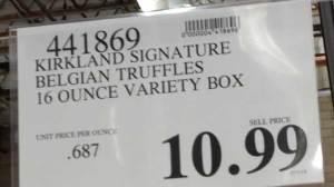 Truffle Price Sign