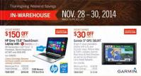 Black Friday 2014 Costco Coupon Book Ad Scan Cover