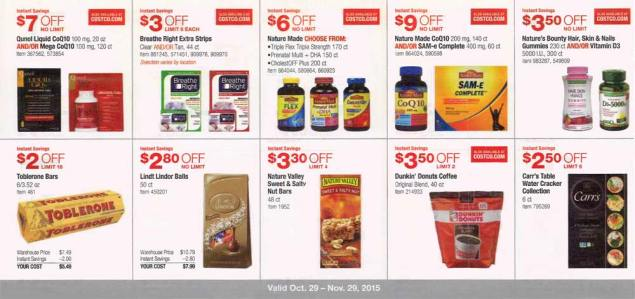 November 2015 Costco Coupon Book Page 9