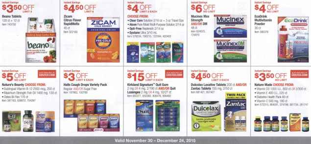 December 2015 Costco Coupon Book Page 9