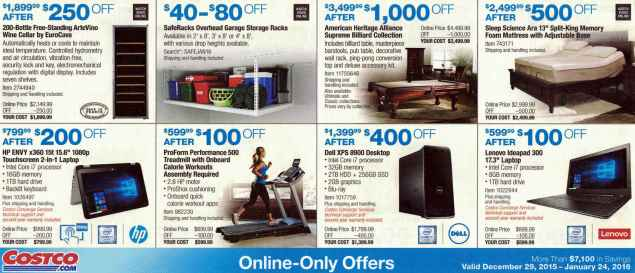 January 2016 Costco Coupon Book Page 17