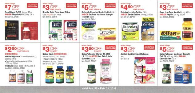 February 2016 Costco Coupon Book Page 11