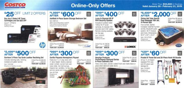 February 2016 Costco Coupon Book Page 14