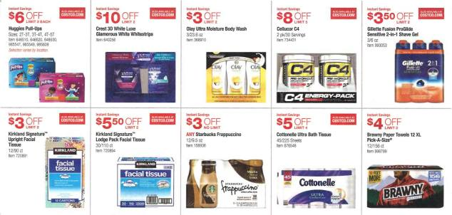 February 2016 Costco Coupon Book Page 4