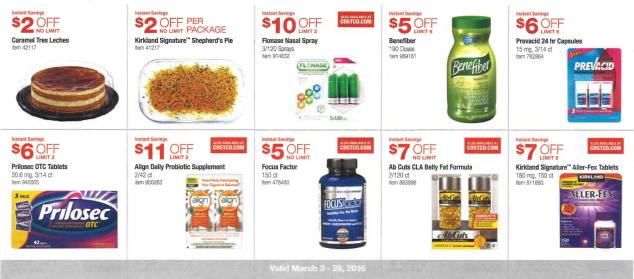 March 2016 Costco Coupon Book Page 13