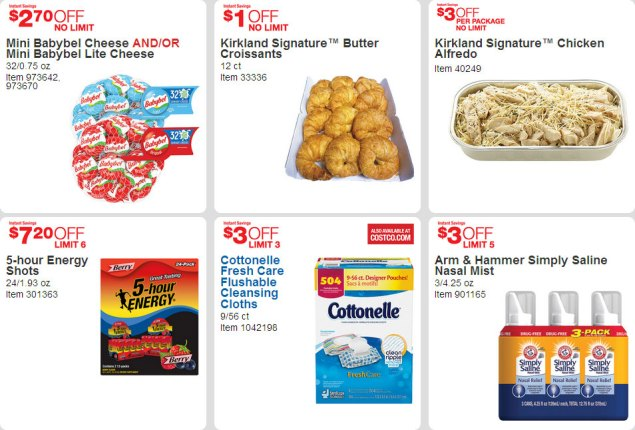 April 2016 Costco Coupon Book Page 19