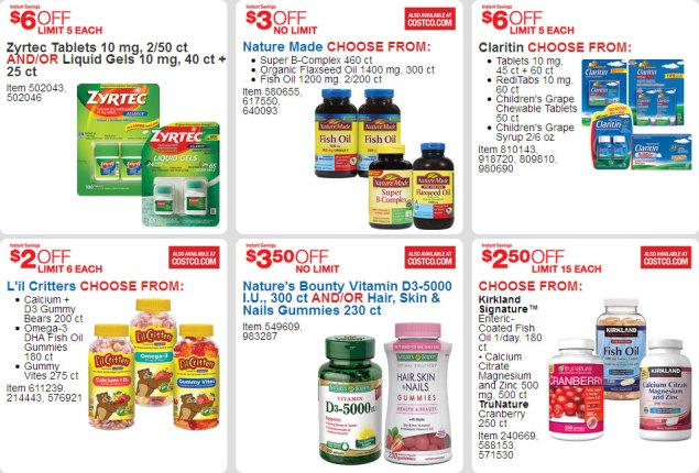 April 2016 Costco Coupon Book Page 21