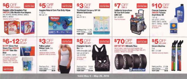 May 2016 Costco Coupon Book Page 5