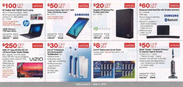 June 2016 Costco Coupon Book Page 3